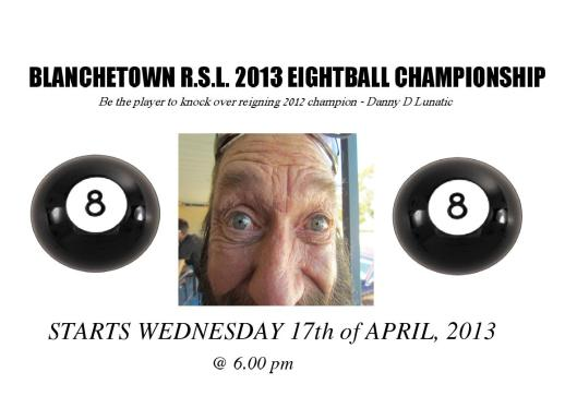 2013 EIGHTBALL NOTICE